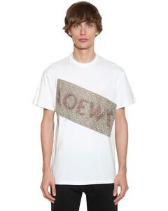 Flower Patch Cotton Jersey T-shirt
