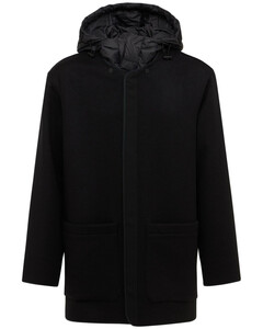 Double Face Wool & Cashmere Down Coat
