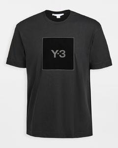 U型方形徽标T恤