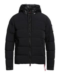 Leather zipped jacket