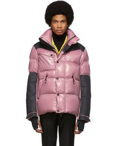 粉色&黑色Palu羽绒夹克