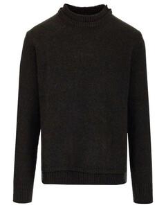 Layered Collar Knit Jumper