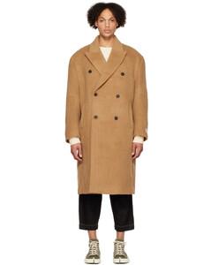 Black gabardine padded jacket