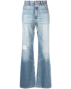 Augert stone fur-trimmed shell jacket
