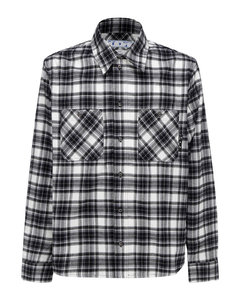 Arrows check print shirt