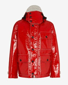 Genius 2 Moncler 1952 Lormont feather down layered jacket