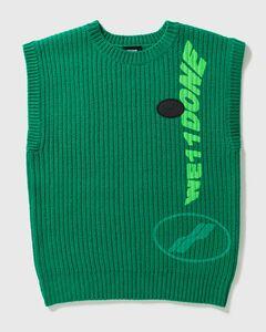 Multi-logo Square Knit Vest