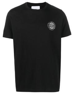 jacket with hood and baroque print
