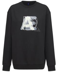 Logo Print Cotton Blend Sweatshirt