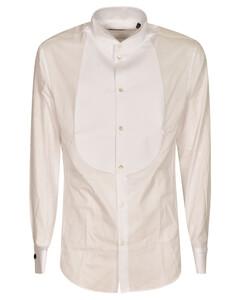 Tartan patterned wool coat