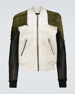羊毛皮与皮革夹克