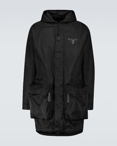 Re-Nylon hooded parka