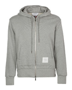 Back Band Hooded Jacket
