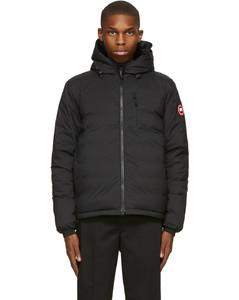 黑色Lodge羽绒夹克