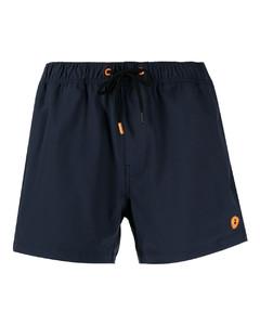 绿色徽标泳裤