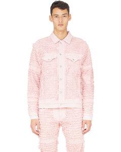 Denim Jacket Blackmeans - Pink
