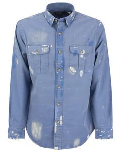 Gavin Mélange Wool-Blend Overcoat