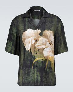 Simon floral short-sleeved shirt