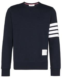 Blue cotton sweatshirt