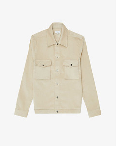 Maddis regular-fit cotton-corduroy overshirt