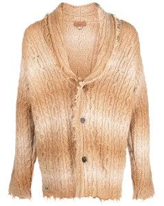 黄色涂层帆布大衣