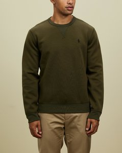 Brand-print oversized cotton-jersey sweatshirt