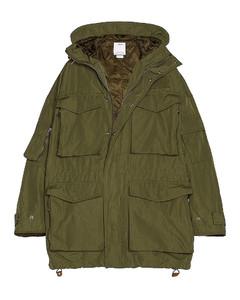 Krupa Field Jacket in Green
