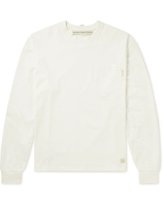 Standard Fit Stripe Long Sleeve T-Shirt Black