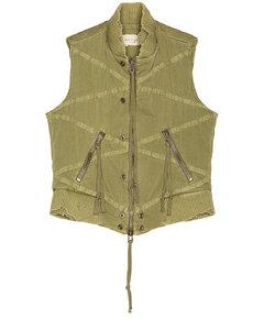 Utility Flight Vest in Green