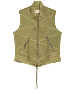 Utility Flight Vest in Green