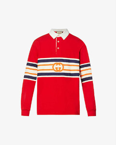 Logo Patch Mid-Rise Jeans