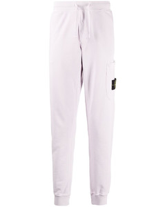 Tapered Washed Denim Jeans