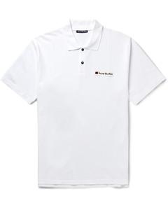 Logo-Appliquéd Cotton-PiquéPolo Shirt