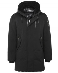 Water-Resistant Down Camron Jacket Colour: Black