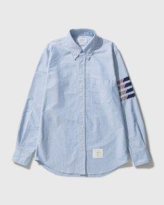 Seamed 4 Bar Straight Fit Oxford Shirt