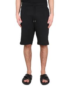 Text-print hooded sweatshirt