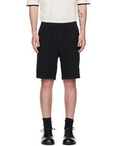 Leather Quilted-Shoulder Jacket