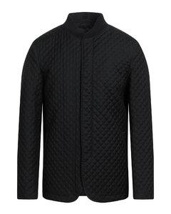 黑色KAWS联名Fishtail大衣