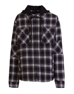 Padded Flannel Jacket