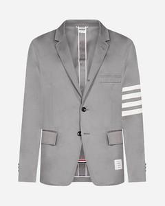 4-Bar cotton blazer