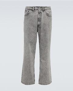 VLTN black cotton-blend sweatpants