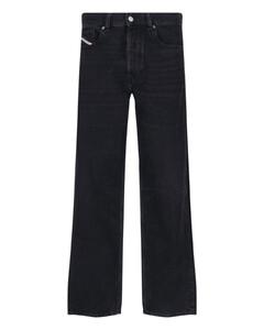 VLTN black cotton-blend sweatshirt