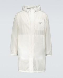 Re-Nylon raincoat