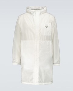 Re-Nylon raincoat