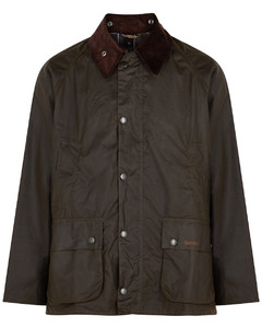 Bedale dark olive waxed cotton jacket