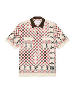Short Sleeve Nylon Shirt