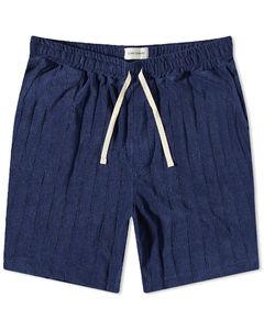 Chain Stitch Logo Vacation Shirt