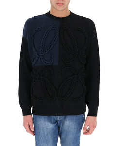 Anagram Embroidered Sweater