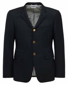 Single Breasted 120s Wool Twill Jacket