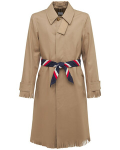 Cotton Trenchcoat W/ Tassles
